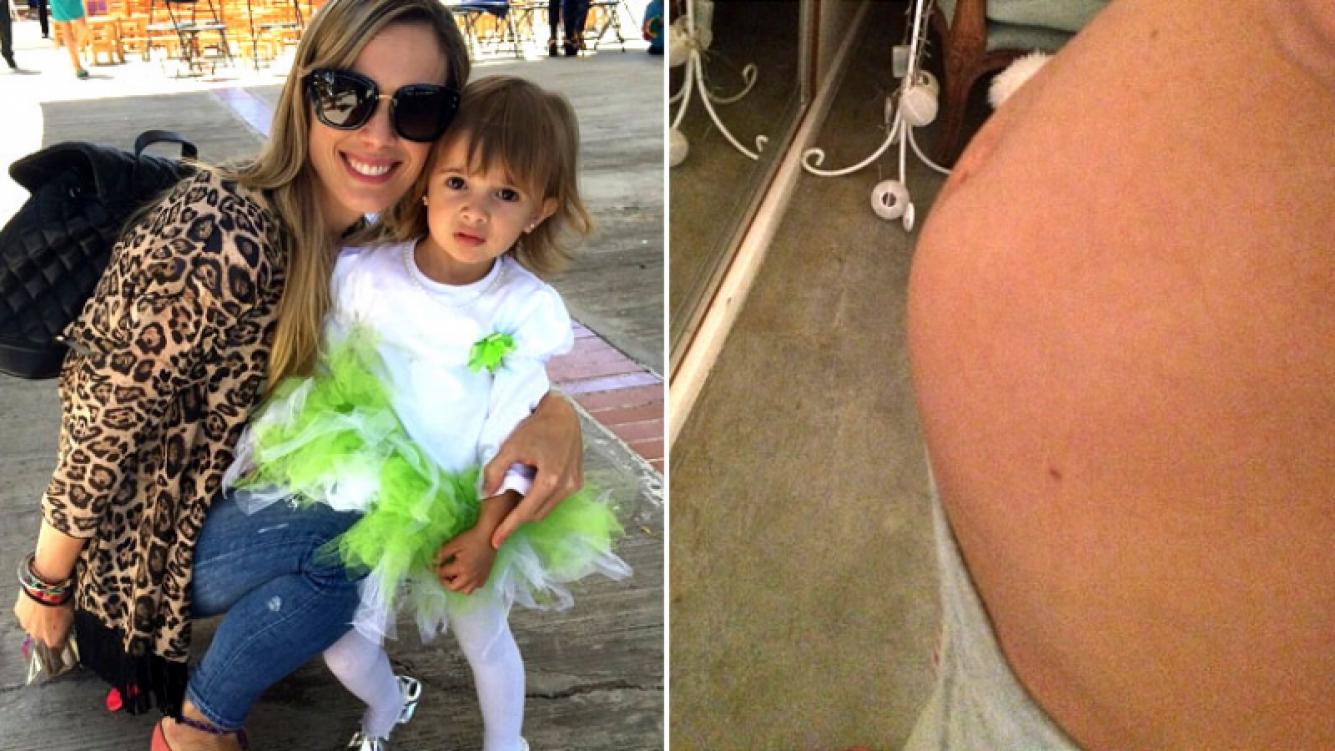 Chechu Bonelli, embarazada. (Foto: Instagram)