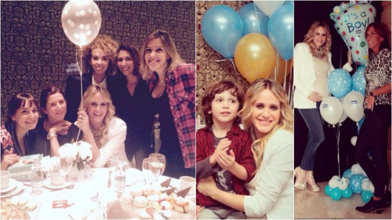 Julieta Prandi celebró el baby shower de Rocco, su segundo hijo. Foto: Instagram