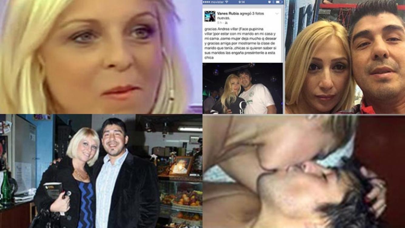 Vanesa Carnevale denunció al Chino Maradona por agresiones e infidelidad. Fotos: Web y Facebook.