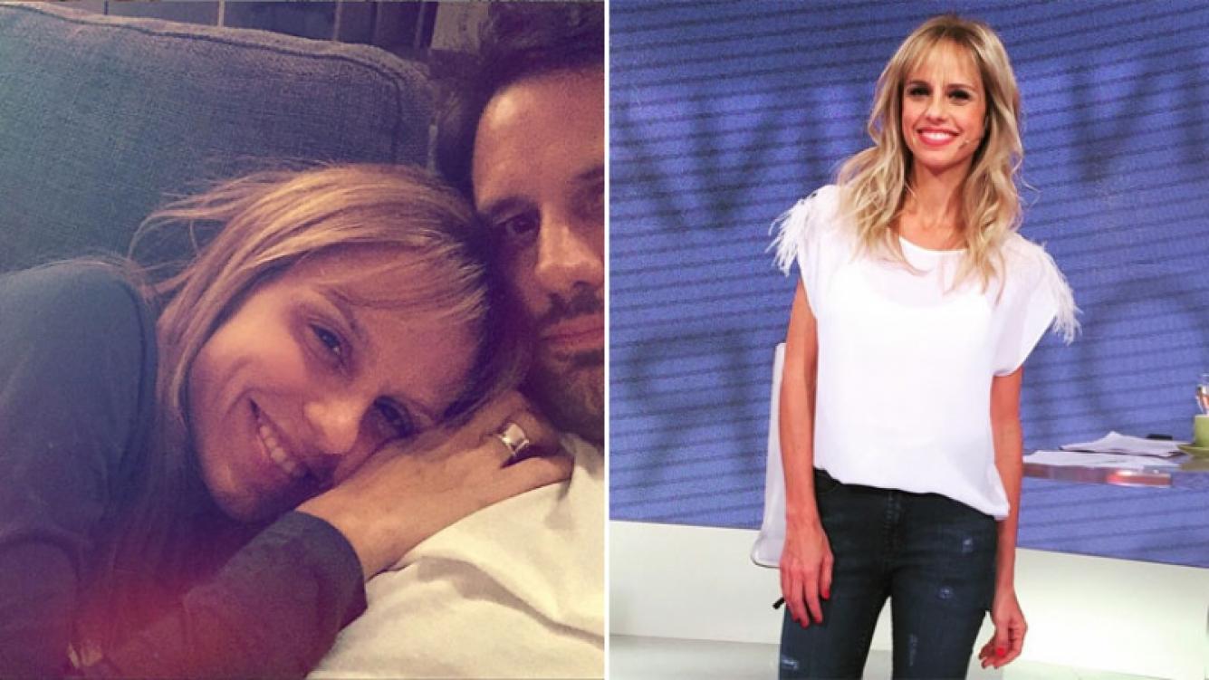 Mariana Fabbiani, selfie al natural y en la intimidad junto a su marido. (Foto: Instagram)