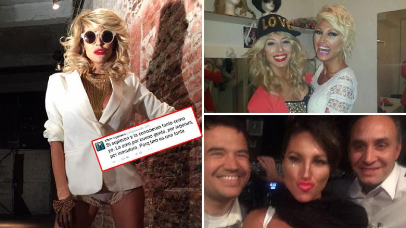 """La insólita defensa de Stefy Xipolitakis a Vicky: """"Si supieran que es como una nena de 5 años"""". (Foto: Twitter)"""