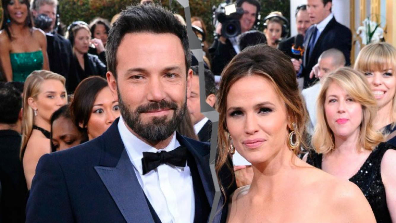 Jennifer Garner y Ben Affleck, divorciados. Foto: Captura
