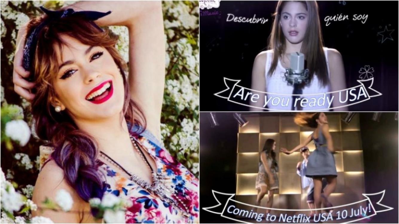 Violetta se suma al catálogo estadounidense de Netflix. Foto: Web / Captura