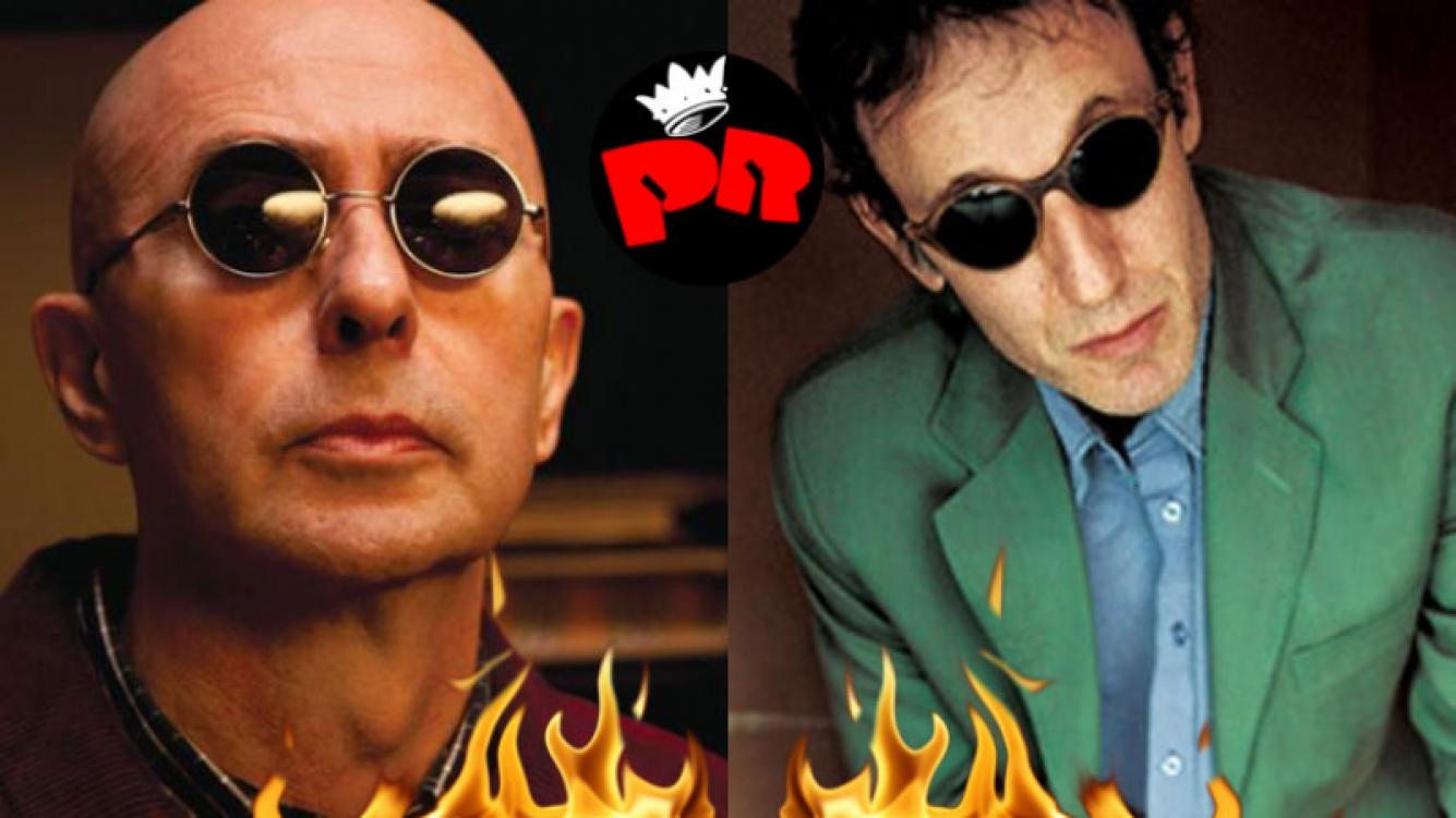 El Indio Solari vs. Skay Beilinson: nuevo round entre los rockeros (Fotos: Web).