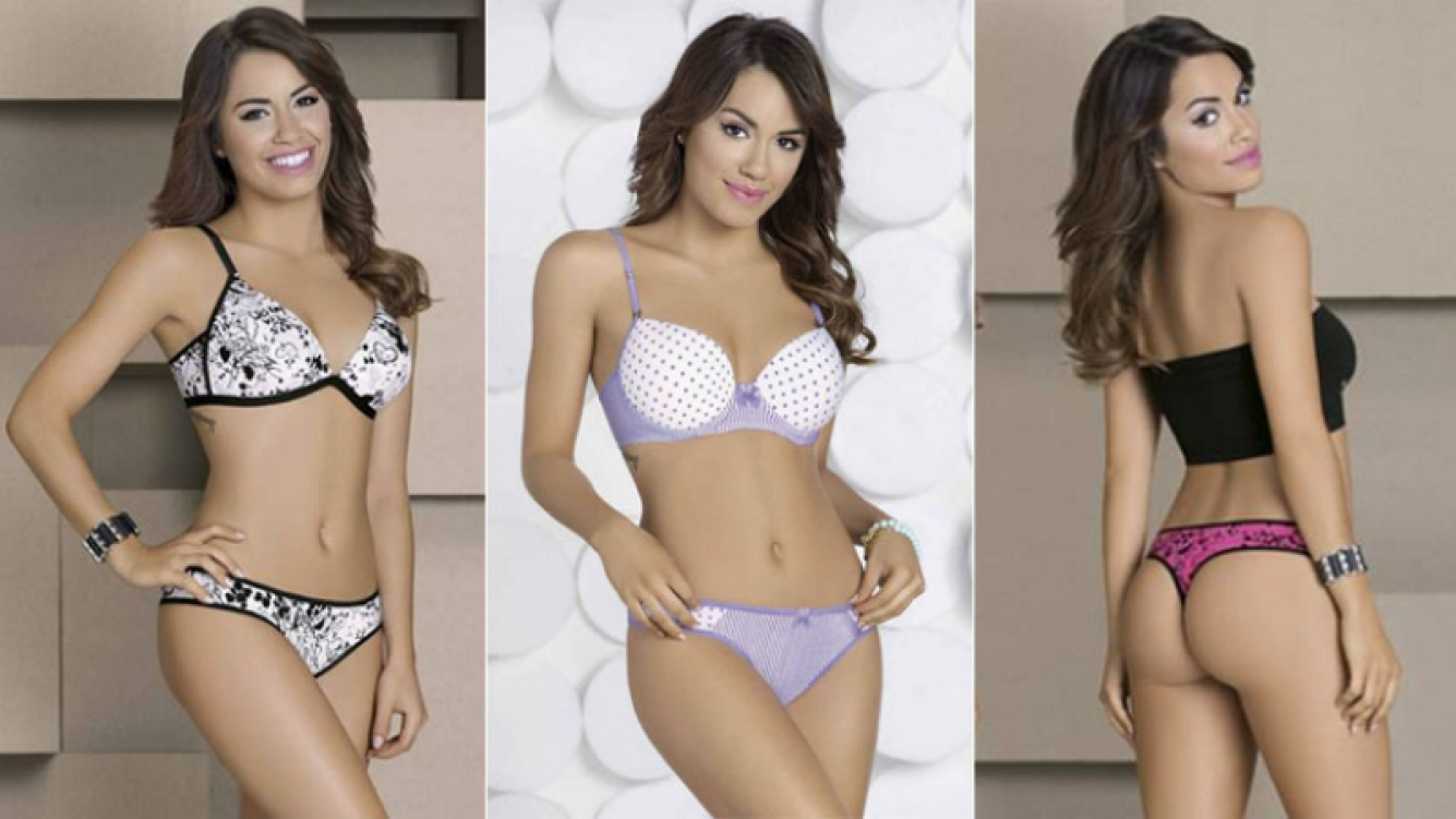 Lali esp sito protagoniz una sensual campa a fotogr fica for Ropa interior marcas