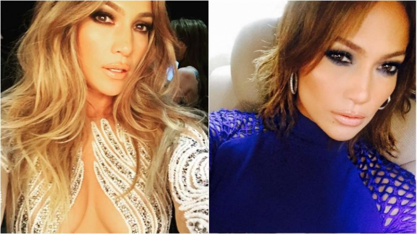 Jennifer López pasó por la peluquería. Foto: Instagram