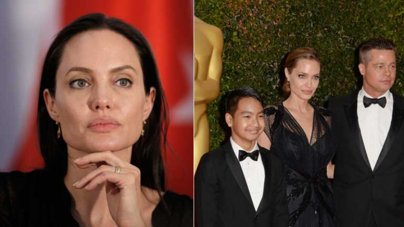 Angelina Jolie trabajará con su hijo en un film sobre Camboya. (Foto: AFP)