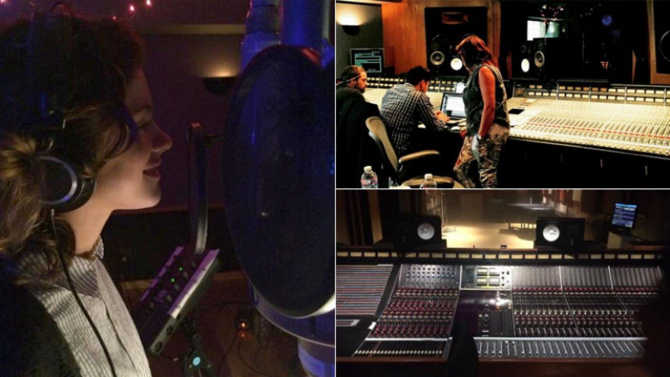"""Tini Stoessel graba su primer disco solista en Hollywood: """"Arrancó esta aventura"""" (Foto: Instagram)"""