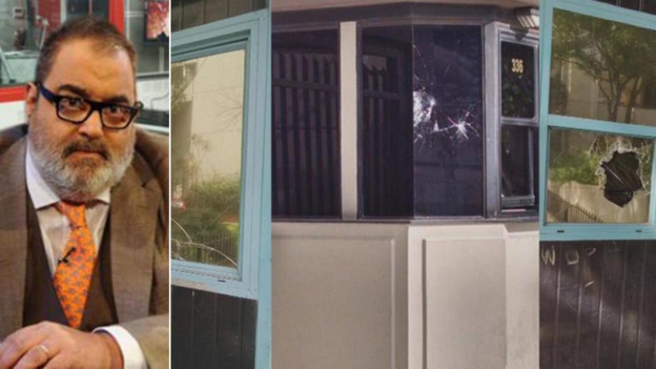 Jorge Lanata habló de los piedrazos y casquillos en su casa. Fotos: Web.