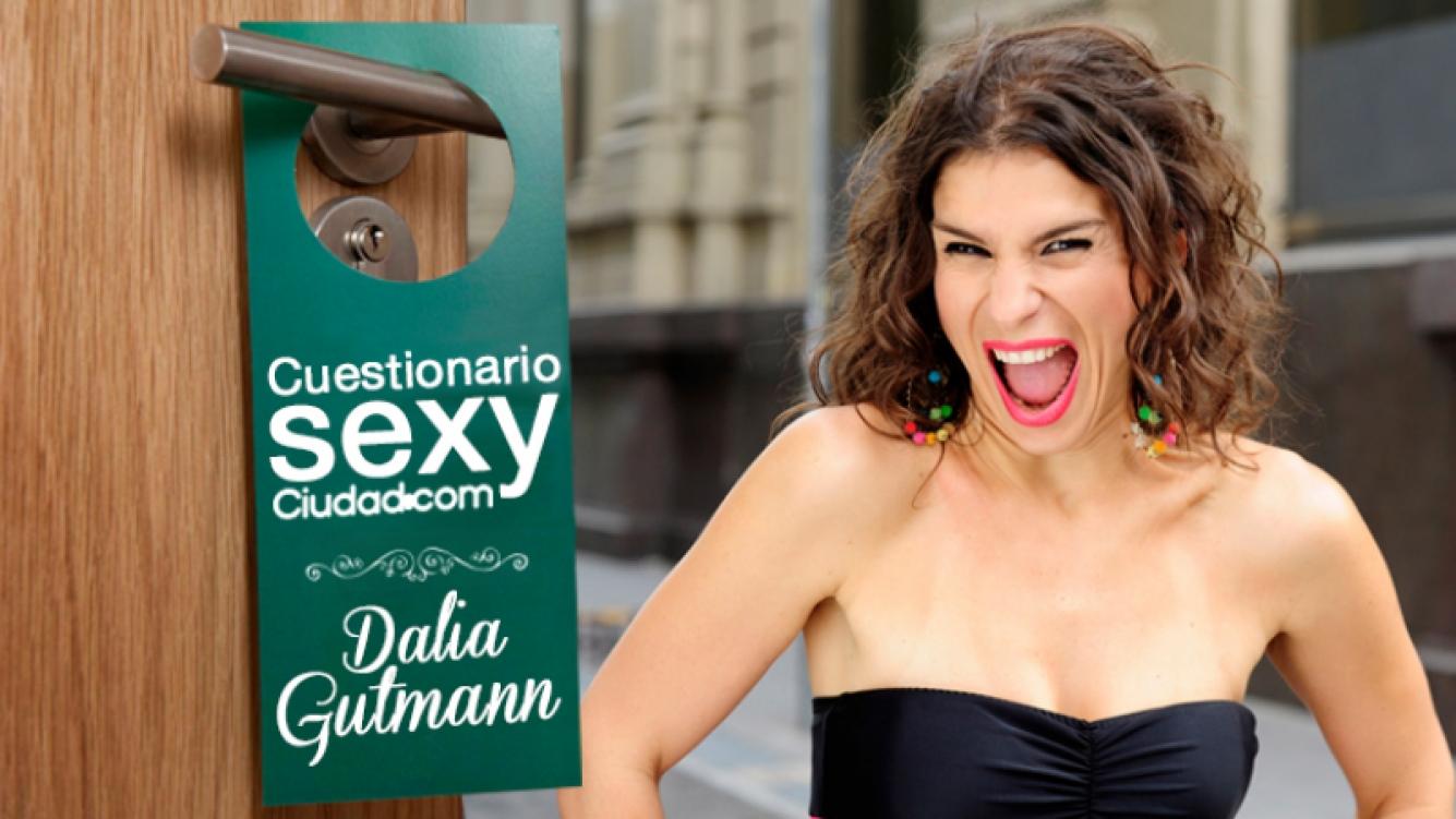 """¡Cuestionario Sexy de Ciudad.com! Dalia Gutmann: """"En lo sexual Sebastián es de los buscadores y yo tiendo a ser vaga"""". Foto: Ciudad.com"""