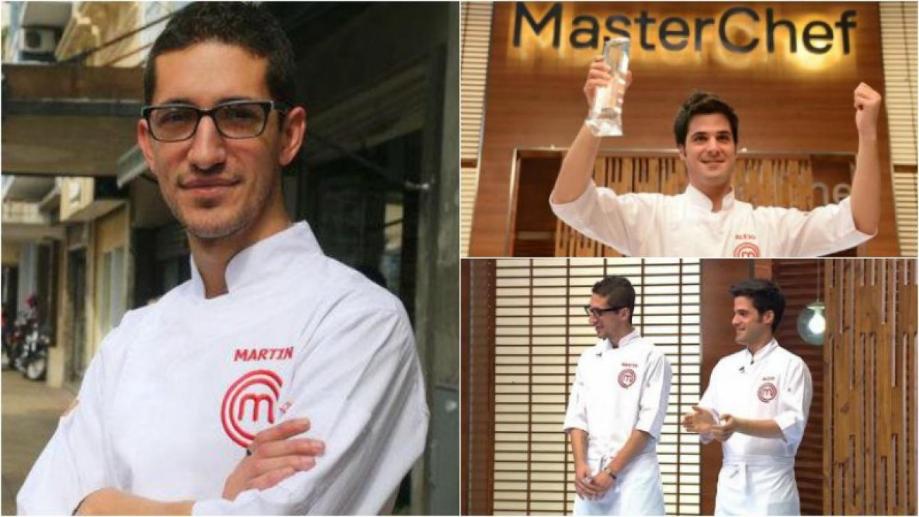 Martín de MasterChef y la pena por la derrota frente a Alejo. (Foto: Telefe / Web)