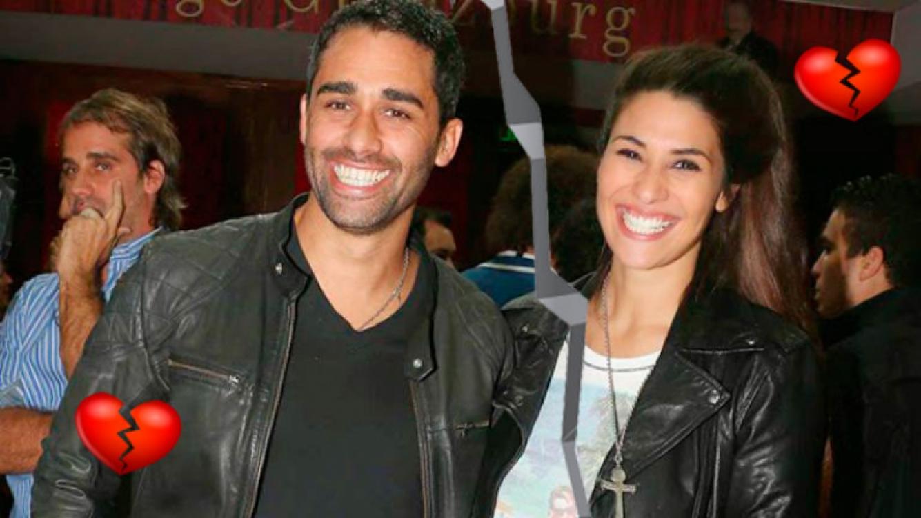 Ivana Nadal y el Pollo Álvarez, separados. Foto: Movilpress