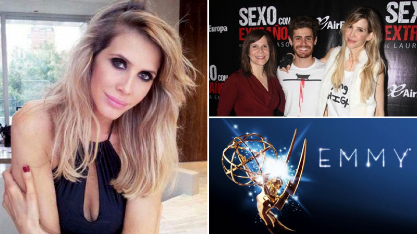 Guillermina Valdés y su desembarco empresarial en los premios Emmy. (Foot: Web)