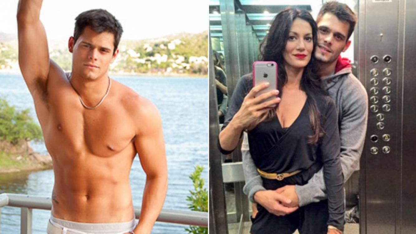 Lucas Velasco, separado de Silvina Escudero tras un año de relación. Fotos: Web.