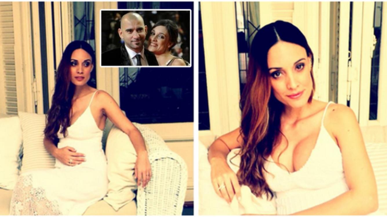 Martina Gusmán tendrá una nena con Pablo Trapero y la llamarán Lucero. Fotos: Twitter y Web.