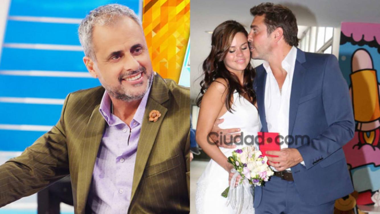 Jorge Rial, duro con Matías Alé tras su casamiento por Civil (Fotos: Web y Archivo Ciudad.com).