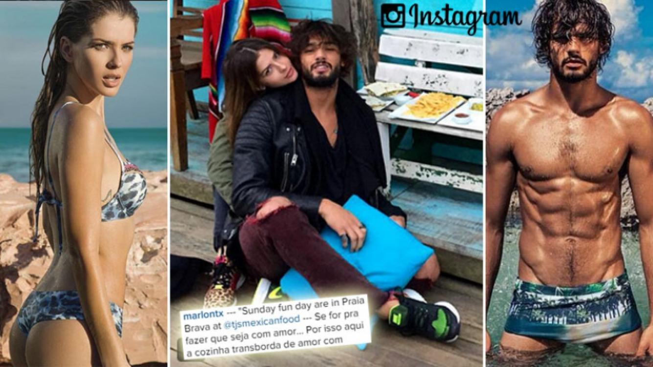 La foto que compartió Marlon Teixeira con China Suárez. (Foto: Instagram)