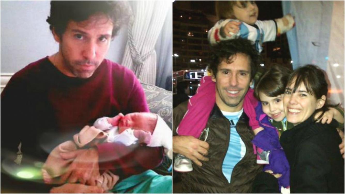 Gastón Portal fue papá de León, su primer hijo varón. Foto: Twitter /Facebook