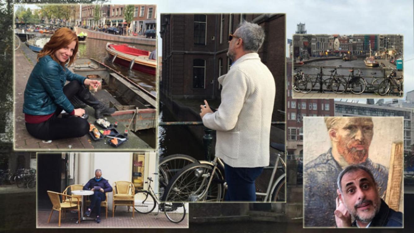 Las vacaciones de Rial y Kämpfer en Amsterdam (Foto: Instagram)