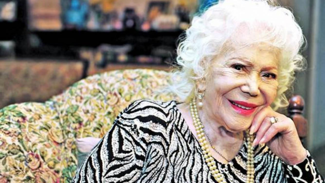 A los 101 años, murió la actriz Elena Lucena (Foto: Web)