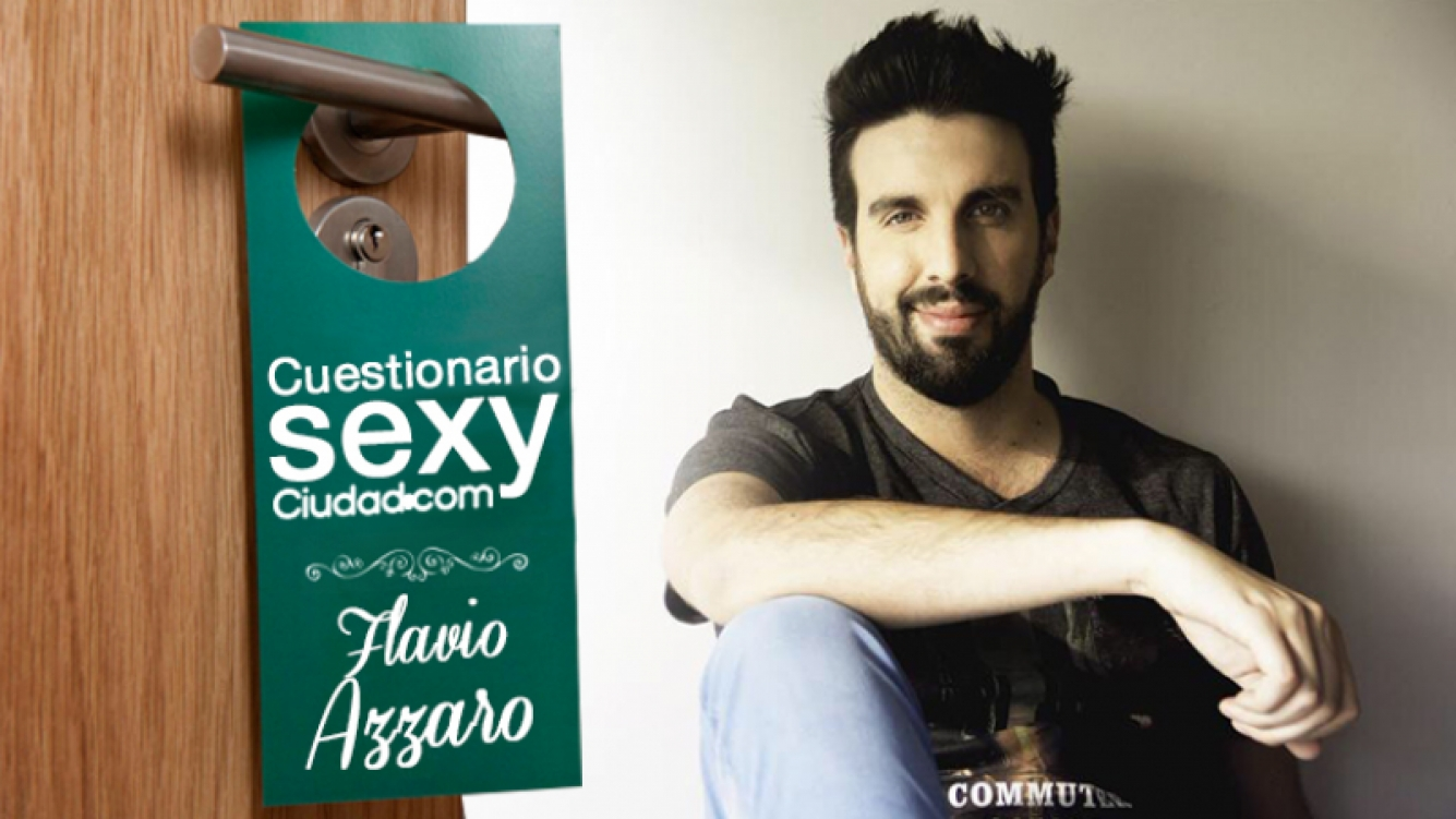 """¡Cuestionario Sexy de Ciudad.com! Flavio Azzaro: """"El tipo que no le practica sexo oral a su mujer es un egoísta y un frígido"""". Foto: Ciudad.com"""