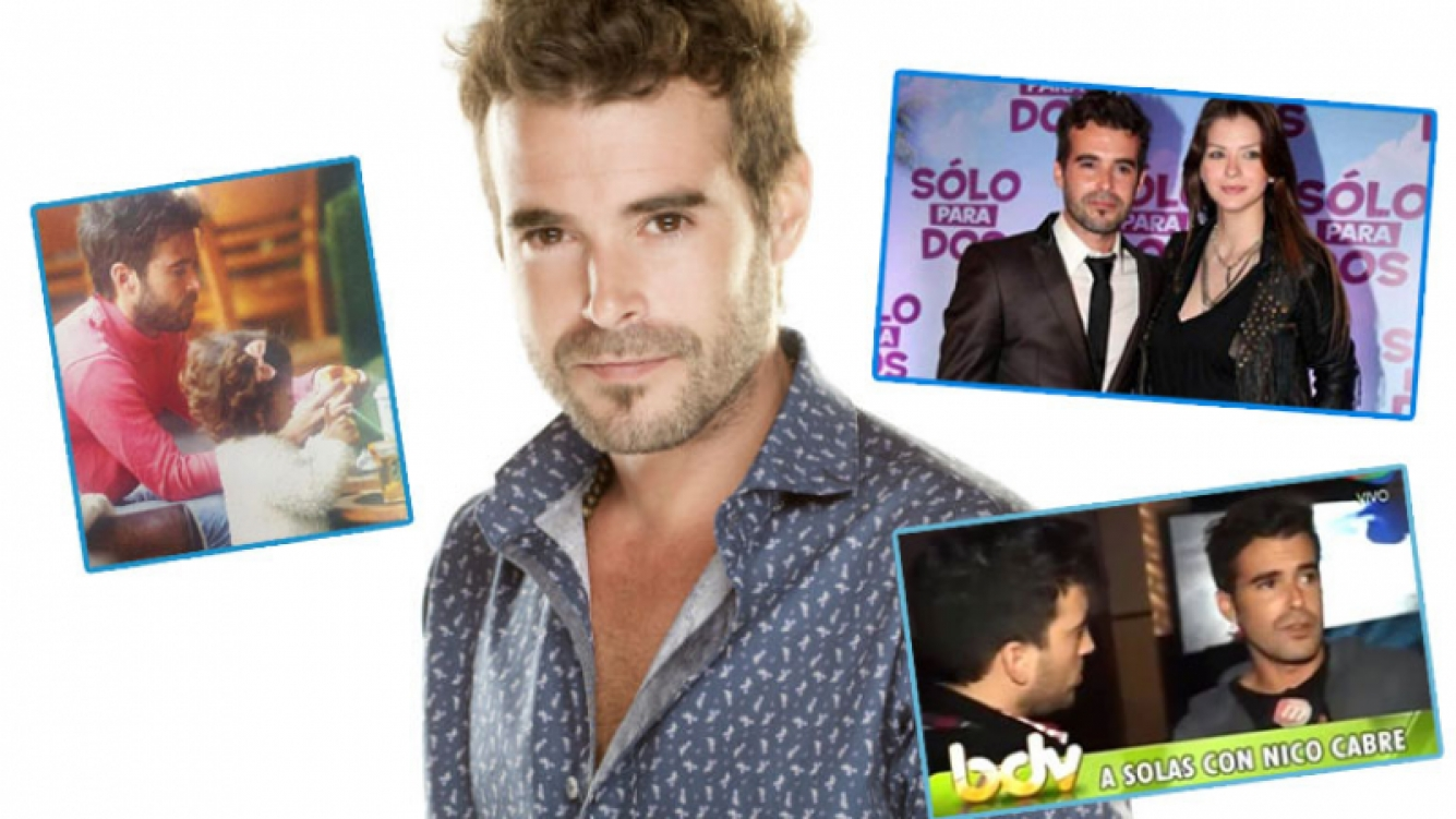 Nicolás Cabré habló de todo en una entrevista (Fotos: Web).