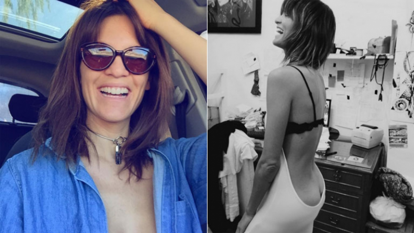 El blooper fashion de Liz Solari (Foto: Instagram)
