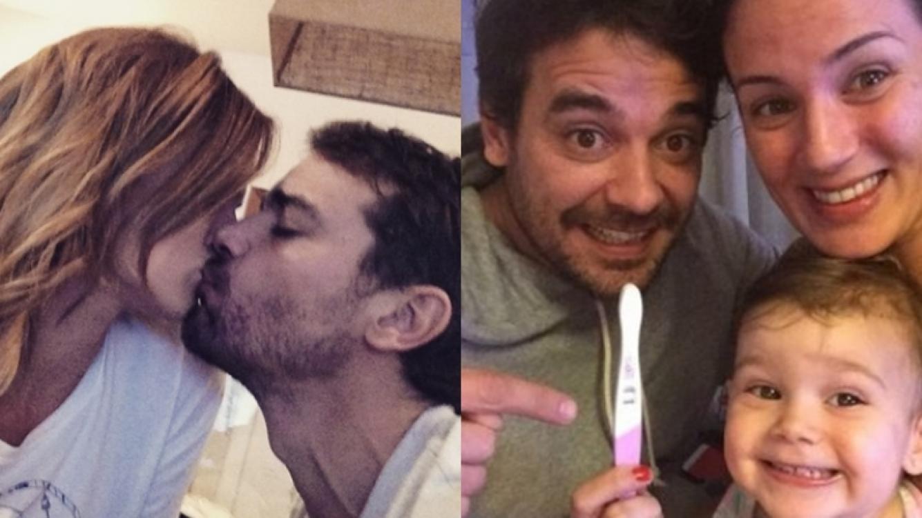 Paula Chaves y Pedro Alfonso esperan su segundo hijo (Foto: Arde Tele)