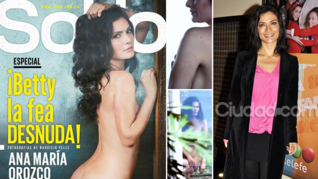 ¡Tapa caliente! El desnudo total de Ana María Orozco para la revista SoHo Colombia. (Foto: Web)
