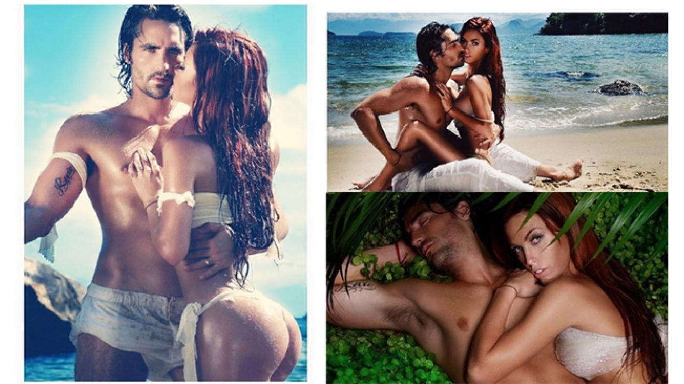 Las fotos hot de Rocío Guirao Díaz y Nicolás Paladini en Instagram.