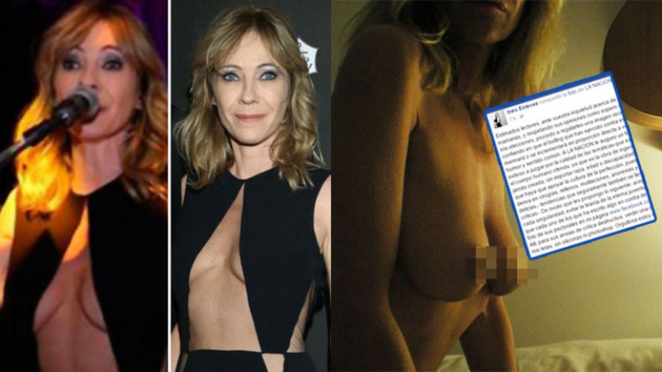 Inés Estévez defendió su cuerpo natural ante las críticas (Fotos: Web).