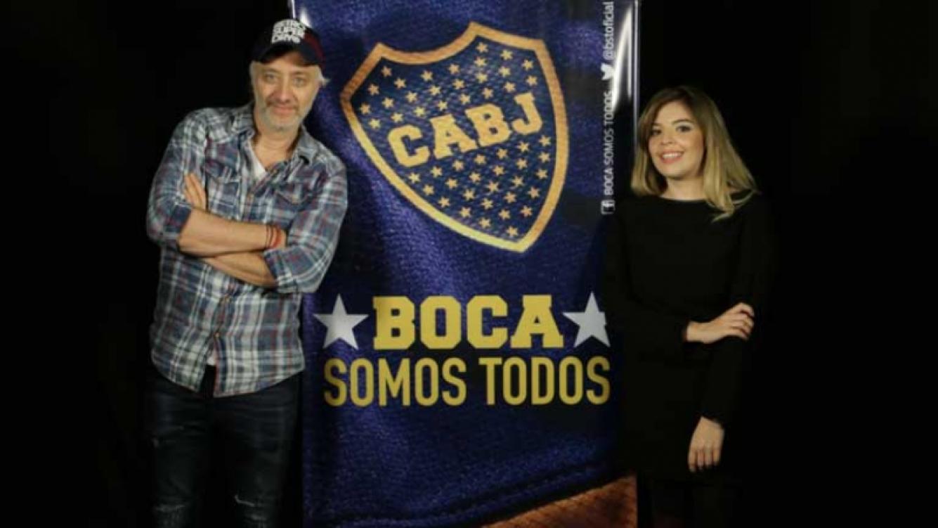 Dalma Maradona , una conductora azul y oro.