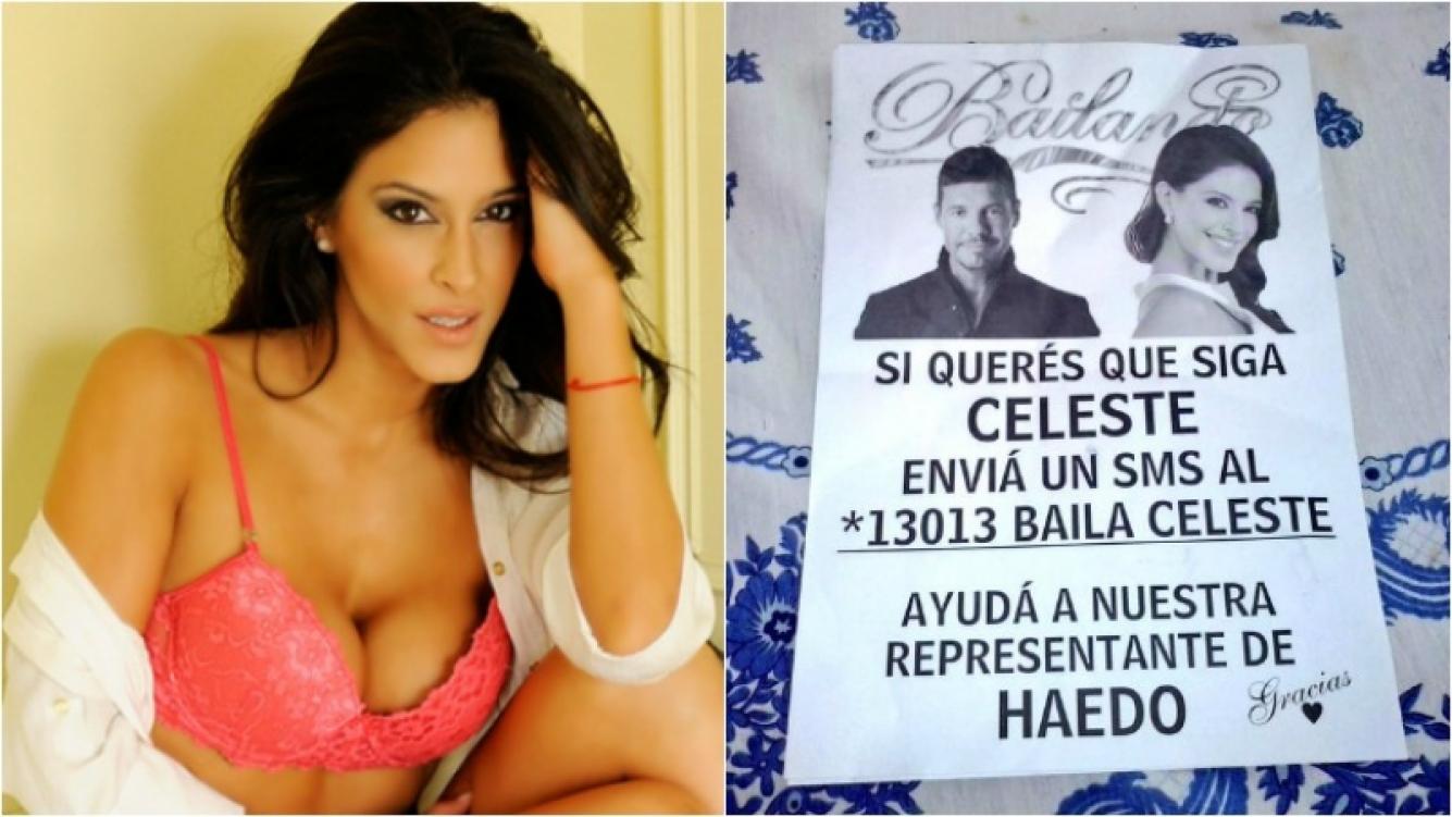 La particular campaña del padre de Celeste Muriega. Foto: Ciudad.com /Twitter