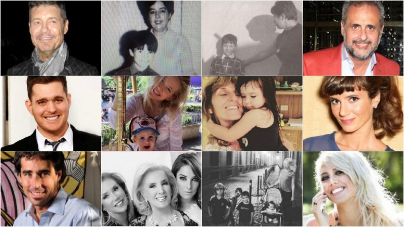 Los saludos de los famosos por el Día de la madre. Foto: Twitter /Instagram /Web