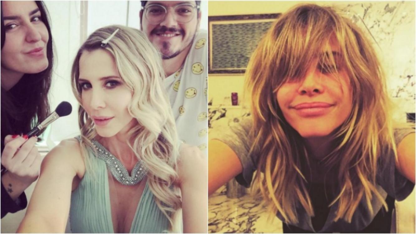 Guillermina Valdés pasó por la peluquería y renovó su look. Foto: Instagram