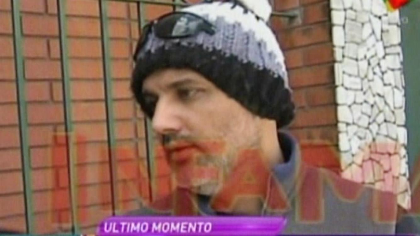 """Diego Leonardi, después de haber sido detenido: """"No hubo agresiones físicas con mi mujer"""". Foto: Captura"""