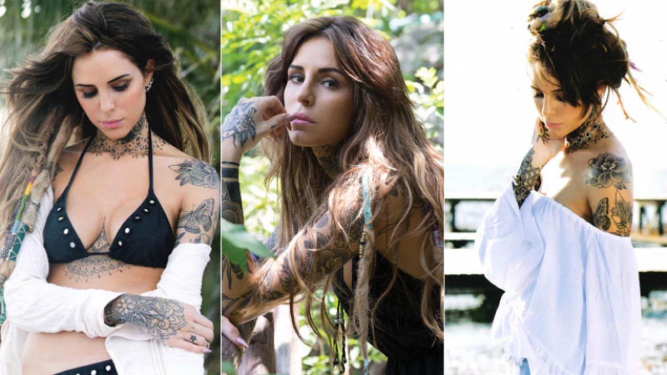 Cande Tinelli, el amor y su pasión por los tatuajes (Foto: Revista ¡Hola! Argentina)