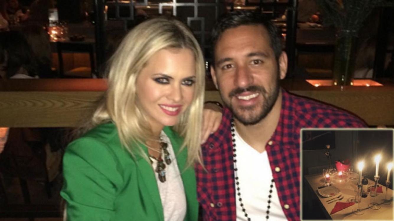 Alejandra Maglietti y Jonás Gutiérrez (Foto: Instagram)