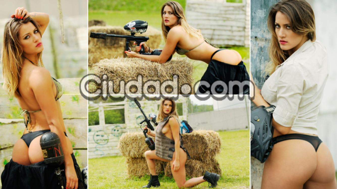 Micaela Viciconte, la diosa guerrera de Combate. Foto: Musepic / Ciudad.com