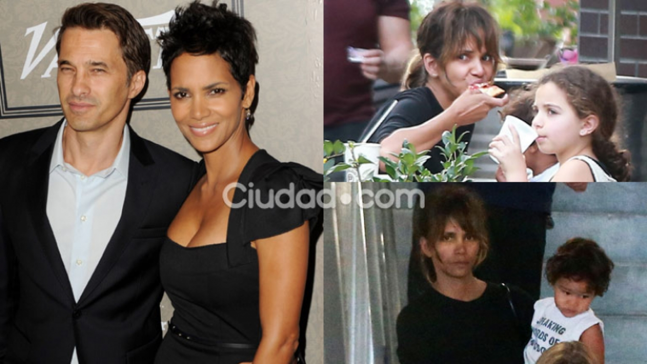 Halle Berry, irreconocible en medio de su separación (Fotos: AFP y Grosby Group).