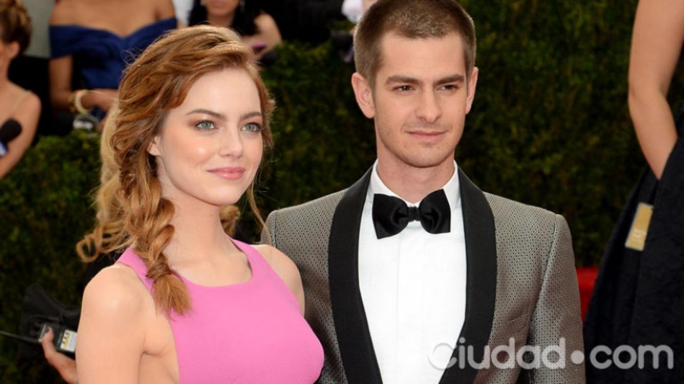 Emma Stone y Andrew Garfield se separaron (Fotos: AFP).