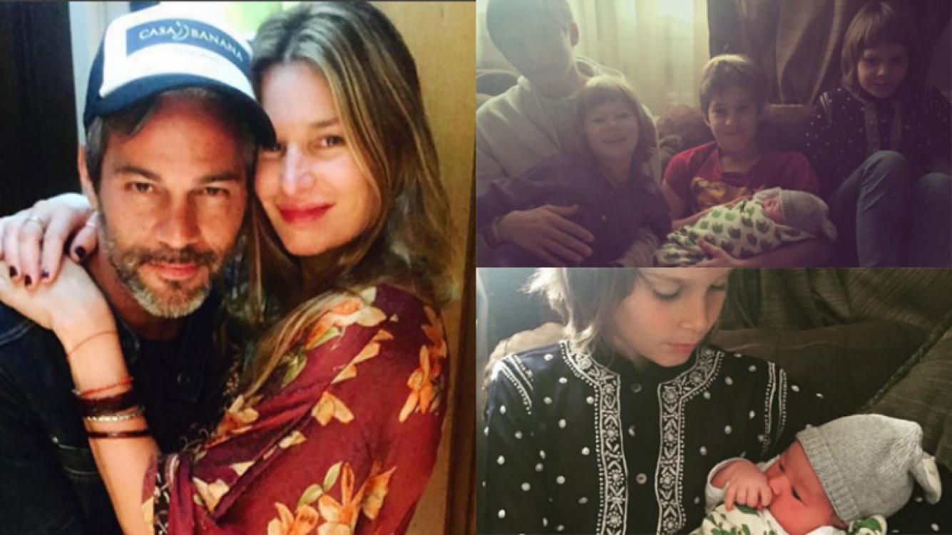 Dolores Barreiro y las tiernas postales familiares junto a Indra (Fotos: Instagram).