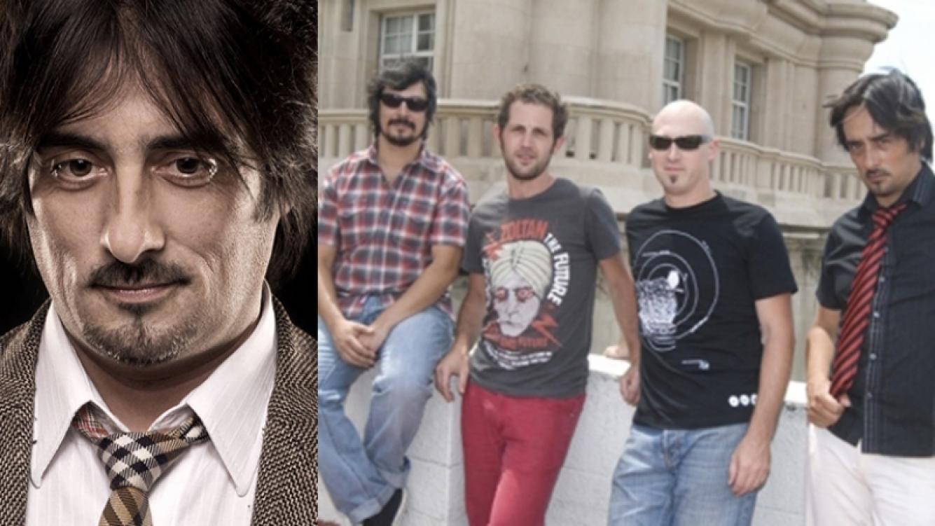 Murió Person, el baterista de los Súper Ratones. Fotos: Web.