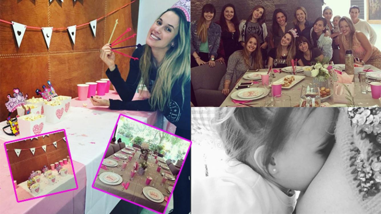 Chechu Bonelli y su baby shower en México. Fotos: Instagram.