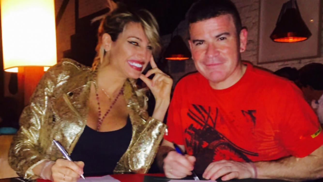 Vicky Xipolitakis y Fernando Ramírez harán teatro juntos en Mar del Plata. Foto: Prensa