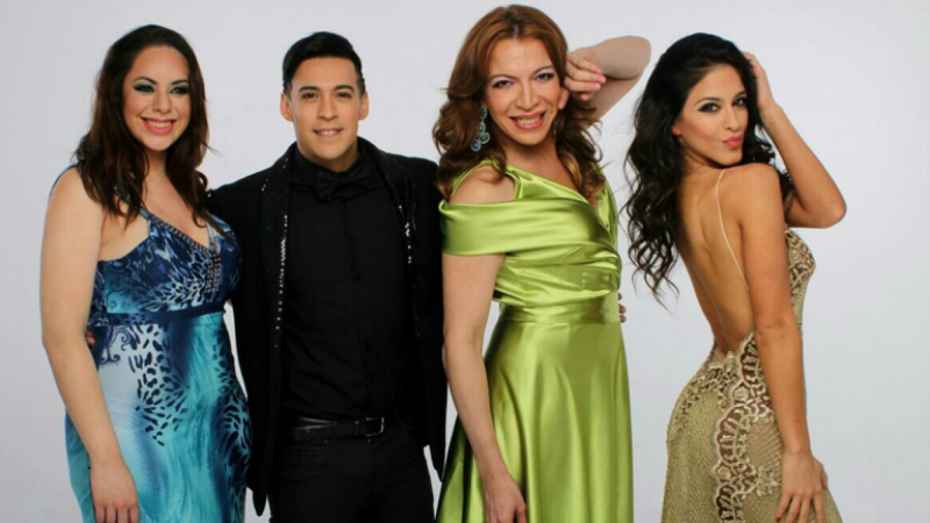Lizy Tagliani ya tiene marquesina para Villa Carlos Paz (Foto: prensa)
