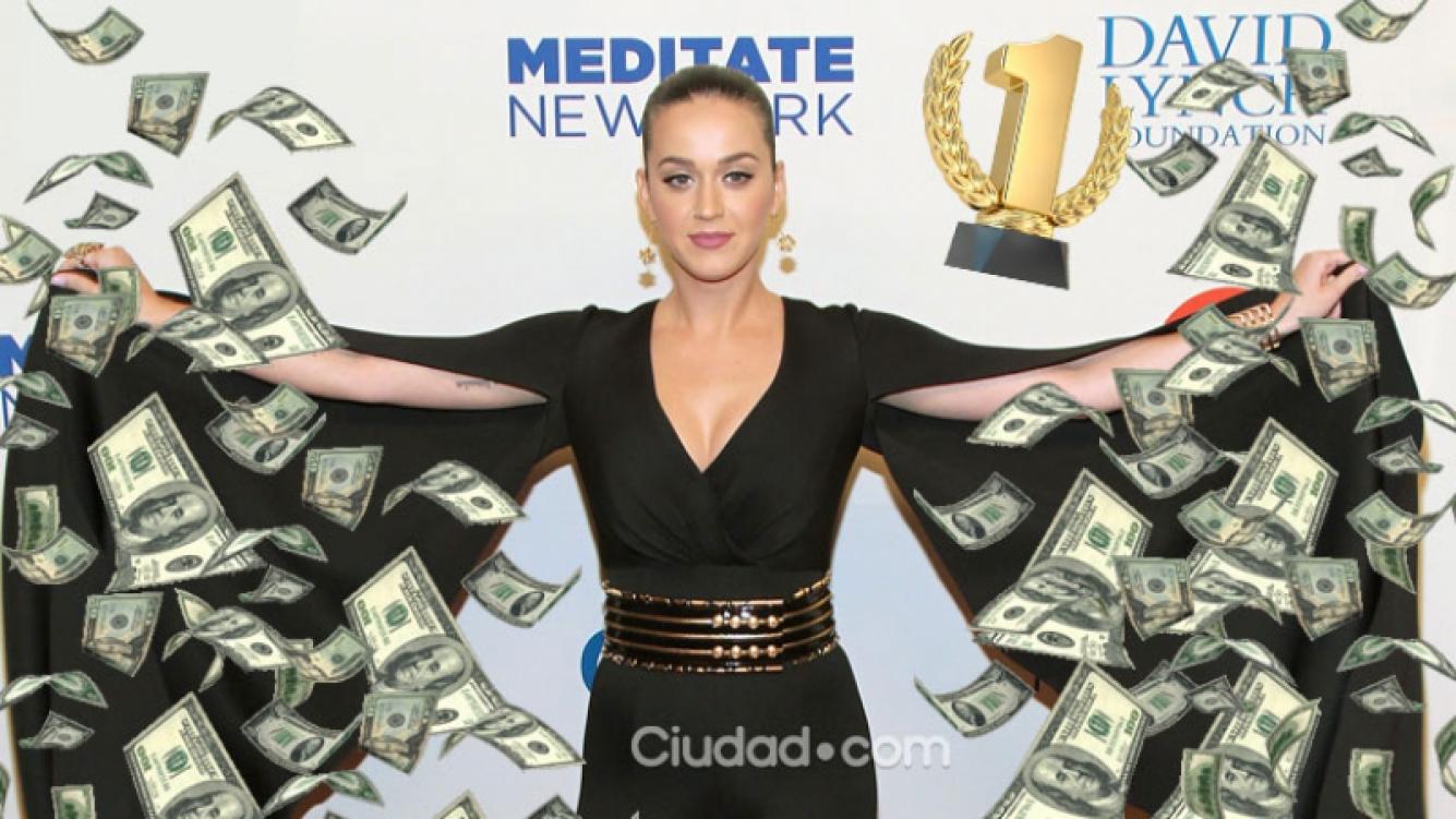 Katy Perry, la cantante más taquillera de 2015. Foto: AFP