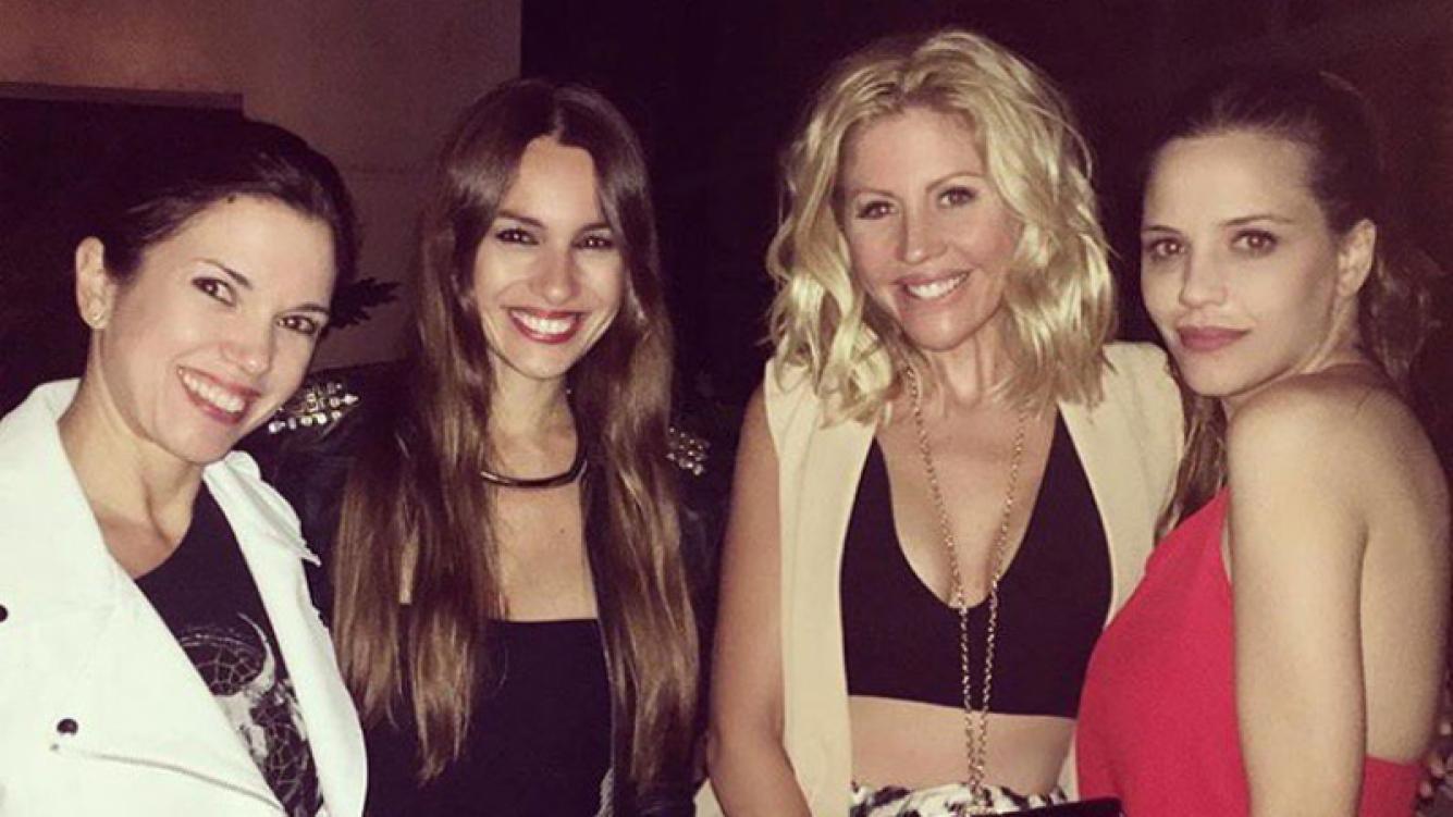 Pampita, Barbie Simons, Ivana Figueiras. Foto: @figueirasivana