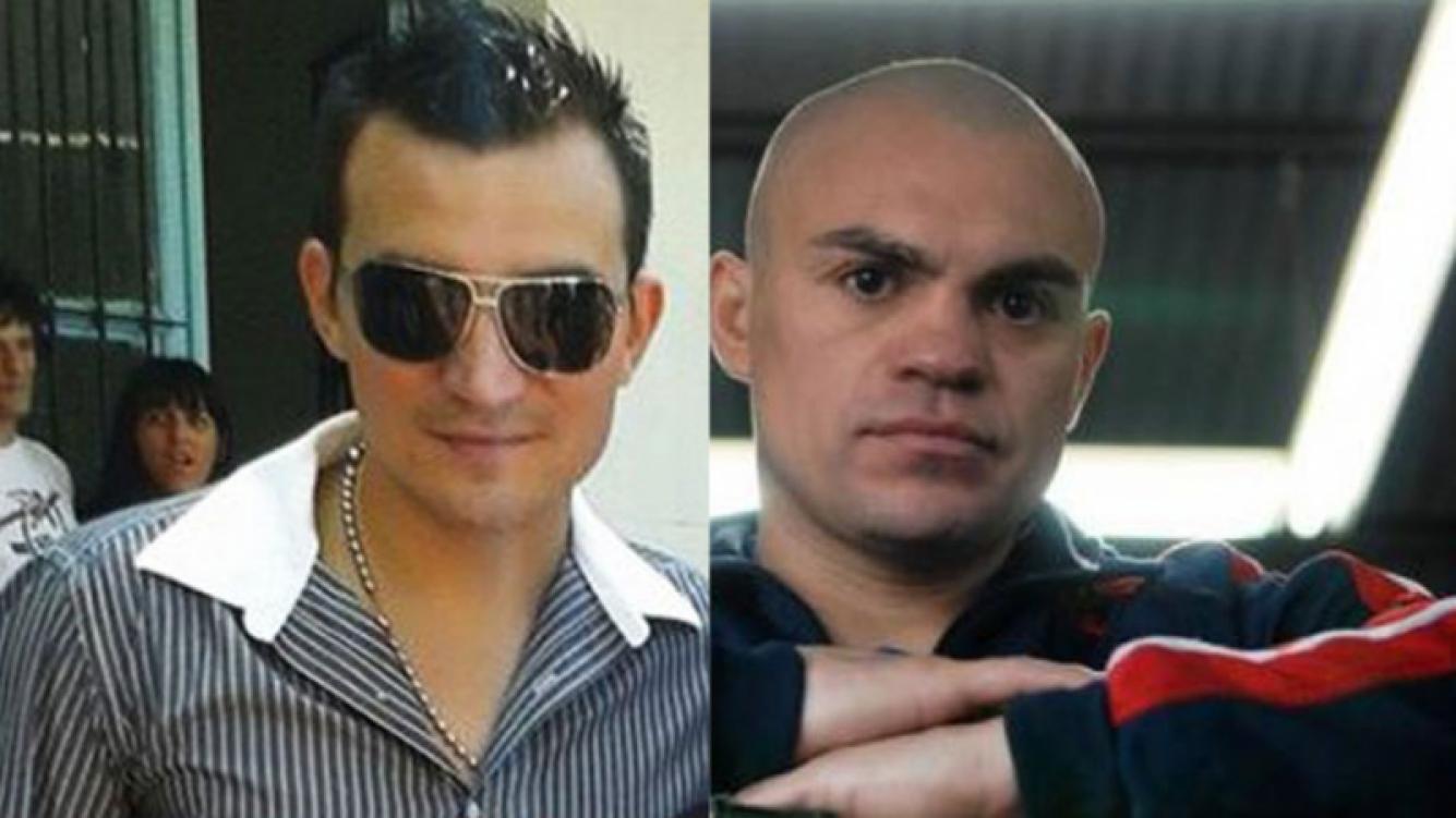 Juan Manuel Barrios, hermano de la Hiena Barrios, se suicidó el domingo (Fotos: Web).
