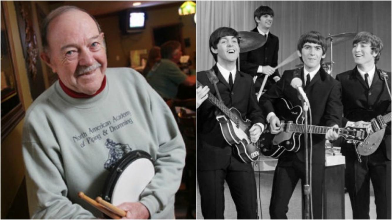 Murió Andy White, el primer baterista de los Beatles. Foto: Web